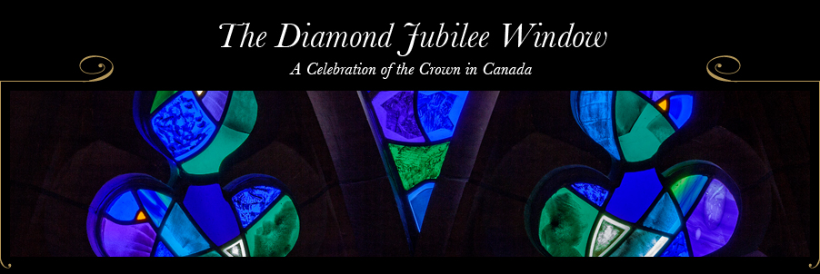 The Diamond Jubilee Window - A Celebration of the Crown in Canada