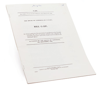 Medical Care Act, 1966