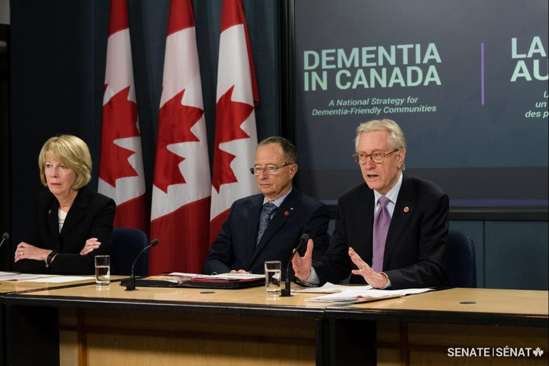 """I don't think any government can afford not to act,"" declared Senator Art Eggleton."