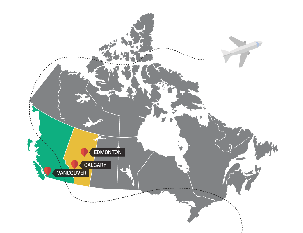 Carte Canada Edmonton.Pumping Prosperity