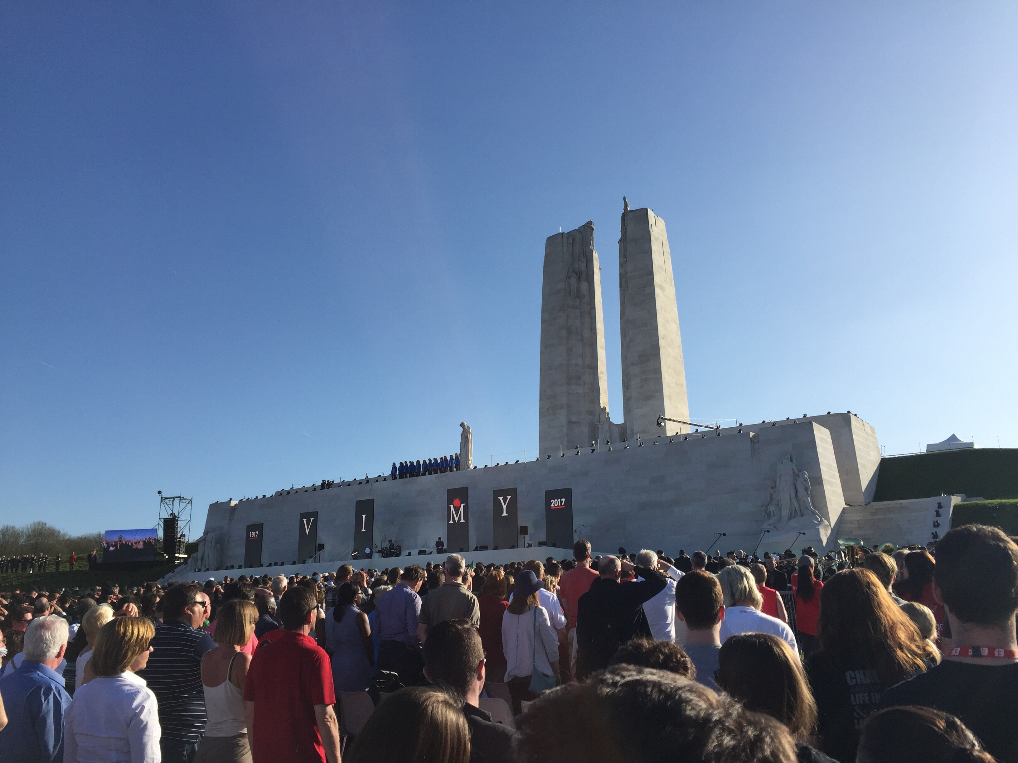 Thousands gathered in France to commemorate the 100th anniversary of the Battle of Vimy Ridge.