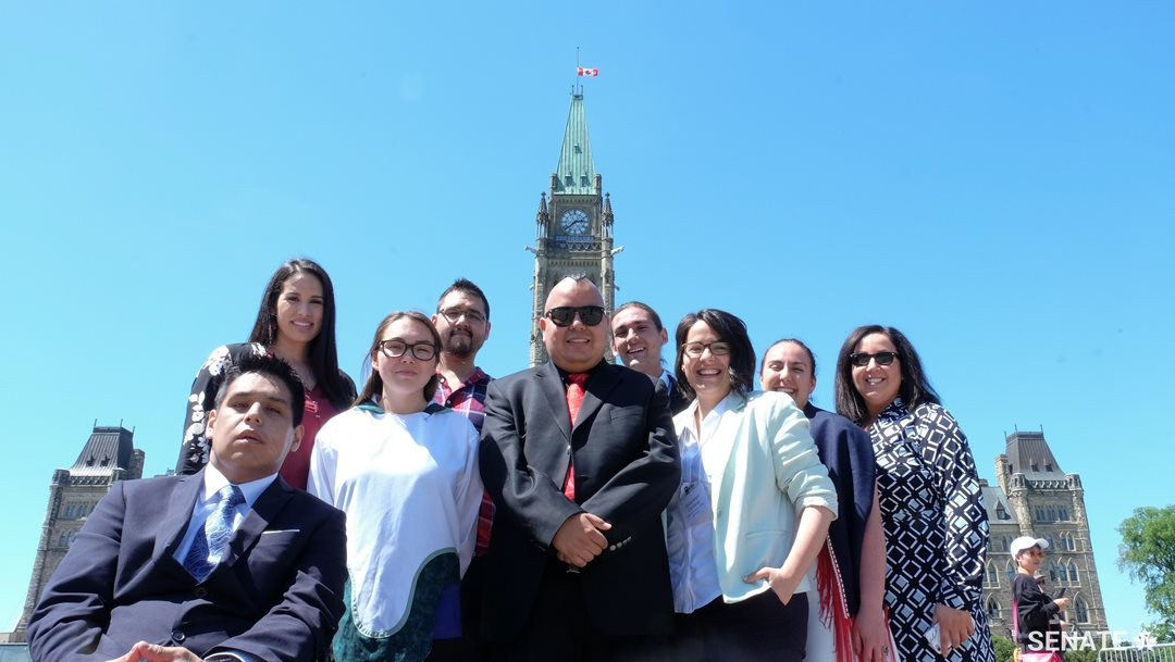 Another year, another class of Indigenous youth leaders hosted by the Senate.