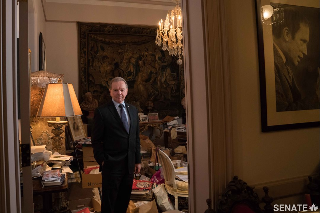 On the eve of his twentieth anniversary in the Senate, Senator Joyal reflects on past, present and future from his office on Parliament Hill in November 2017.
