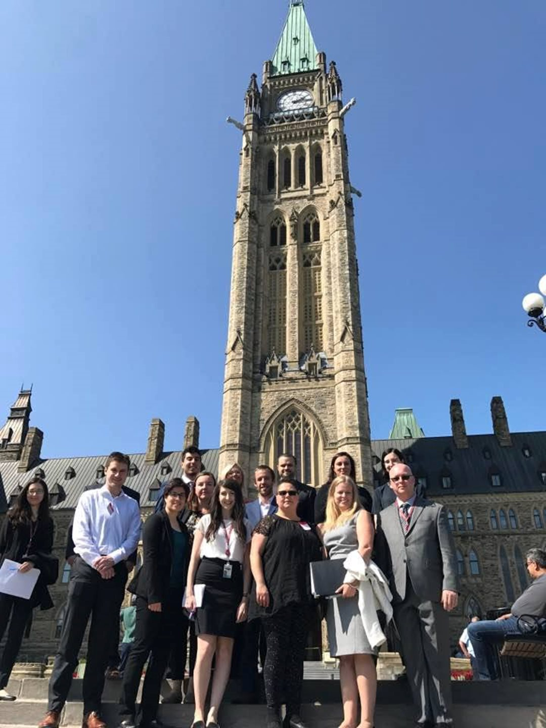 University of Ottawa students interning with Senator Pate come to work on Parliament Hill. The internship program provides an inside look at the legislative process and the work of parliamentarians.