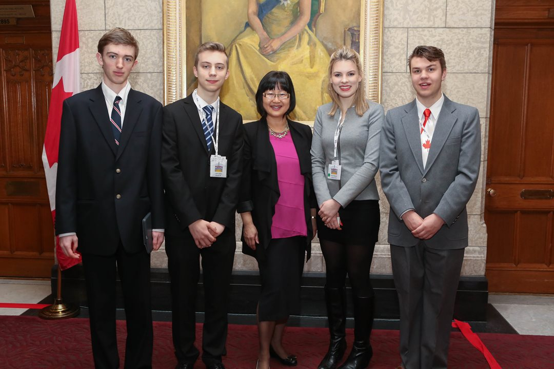 """They get to experience Parliament firsthand and are naturally transformed by their experiences,"" says Senator Yonah Martin. ""As a former educator for 21 years, I look forward to meeting these students each and every year."""