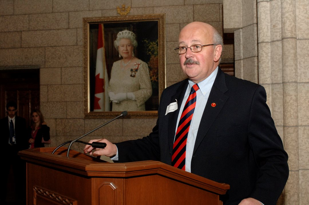 """Any effort to expose young Canadians to how our democracy works benefits us all - an educated electorate is an engaged electorate,"" says Senator Terry Mercer. ""Visits by young people always brighten up Parliament."""