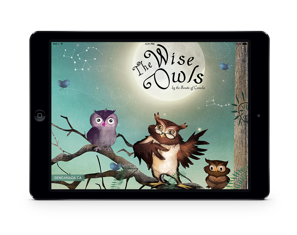 The Wise Owls on ipad