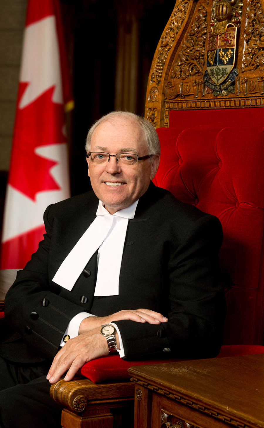 The Honourable George J. Furey, Q.C., Speaker of the Senate