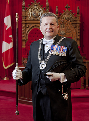 Photo of the Usher of the Black Rod